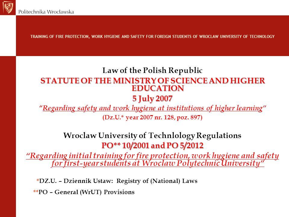 *DZ.U. – Dziennik Ustaw: Registry of (National) Laws