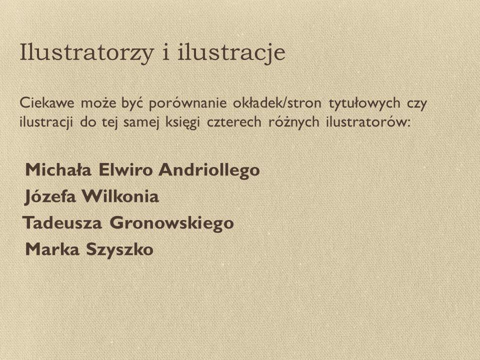 Ilustratorzy i ilustracje