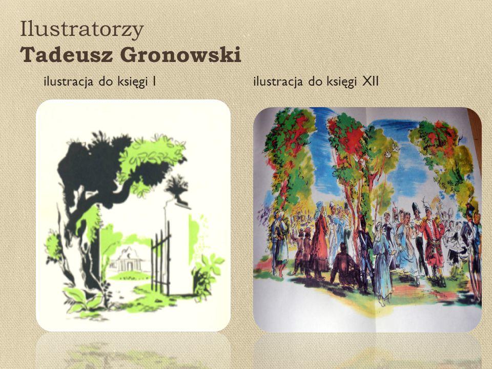Ilustratorzy Tadeusz Gronowski