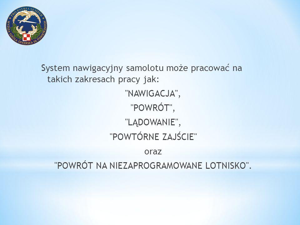 POWRÓT NA NIEZAPROGRAMOWANE LOTNISKO .