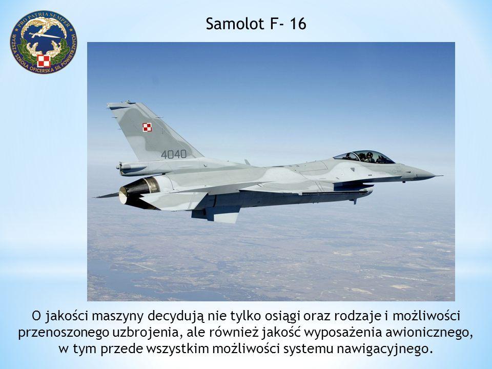 Samolot F- 16