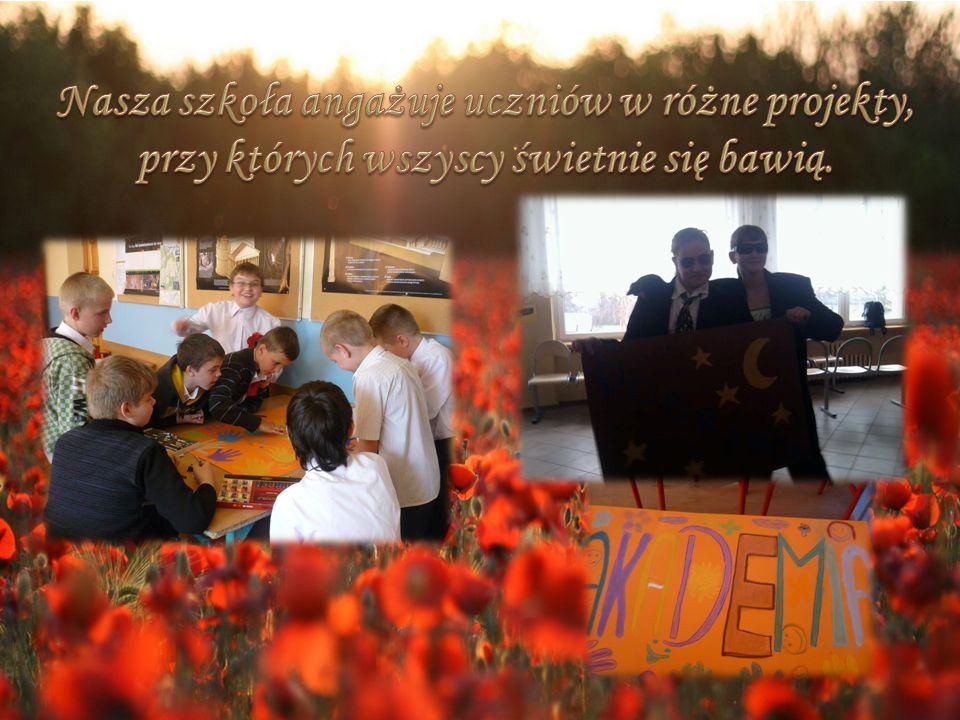 Nasza szkoła angażuje uczniów w różne projekty,