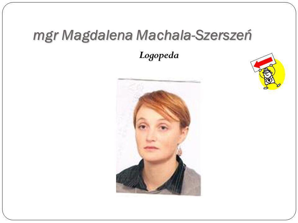 mgr Magdalena Machala-Szerszeń