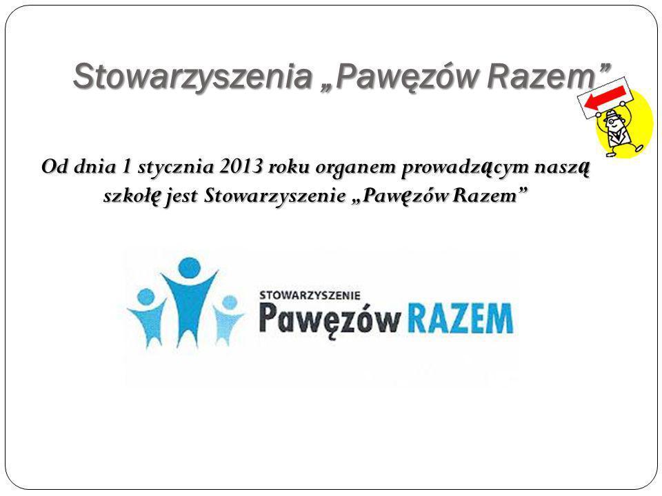 """Stowarzyszenia """"Pawęzów Razem"""
