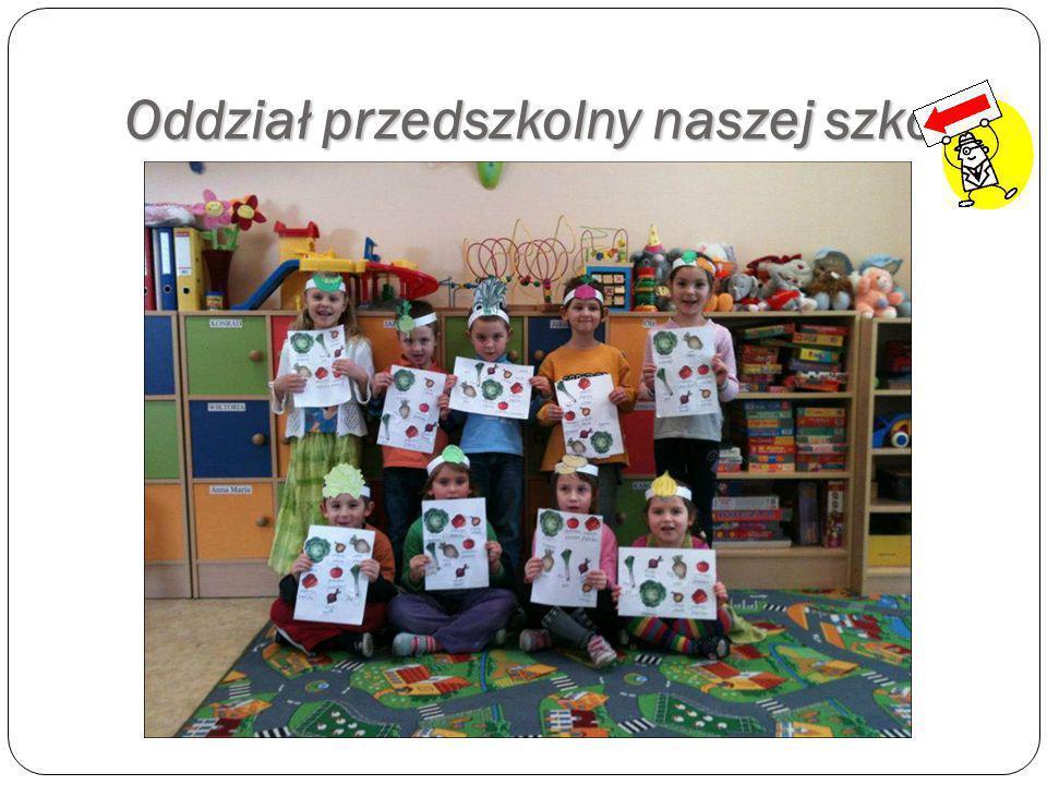 Oddział przedszkolny naszej szkoły