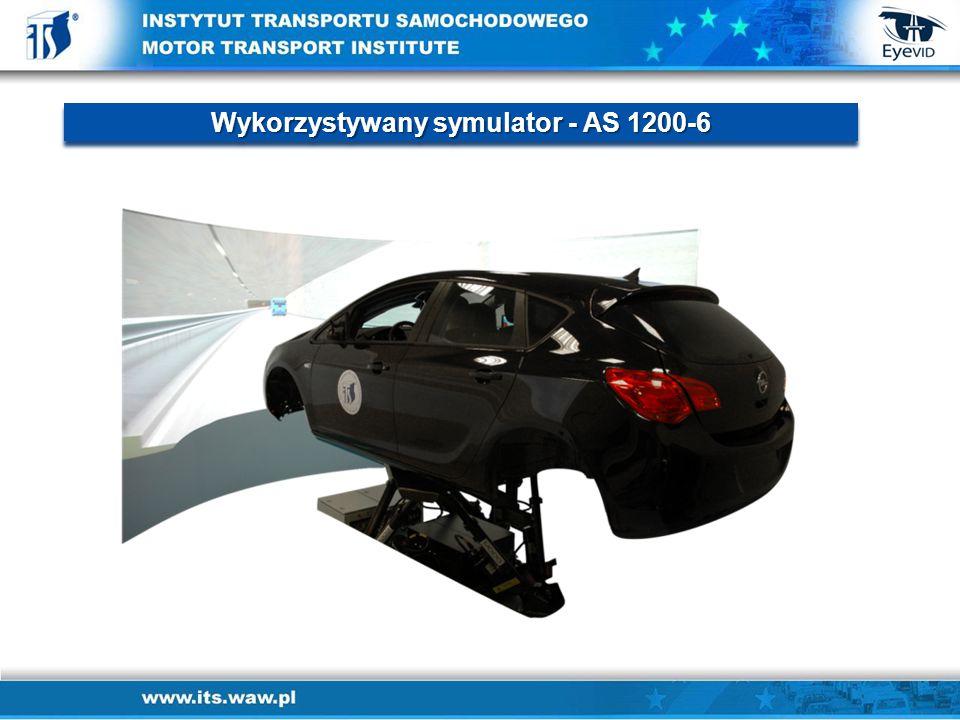 Wykorzystywany symulator - AS 1200-6