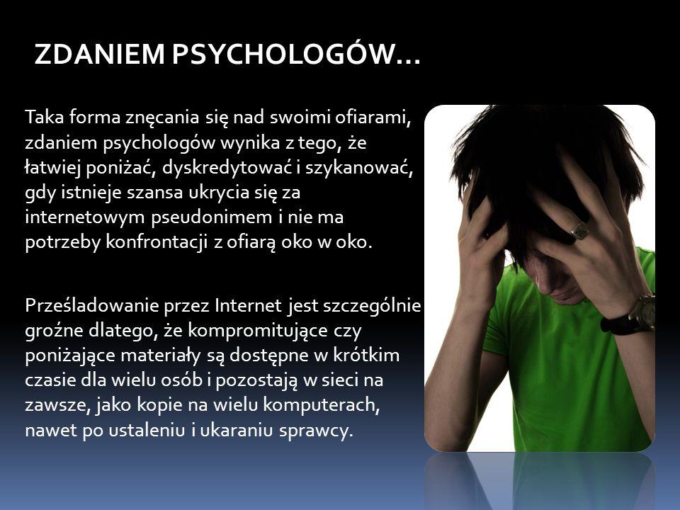 ZDANIEM PSYCHOLOGÓW…