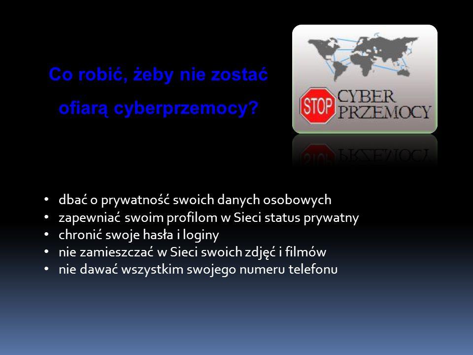 Co robić, żeby nie zostać ofiarą cyberprzemocy