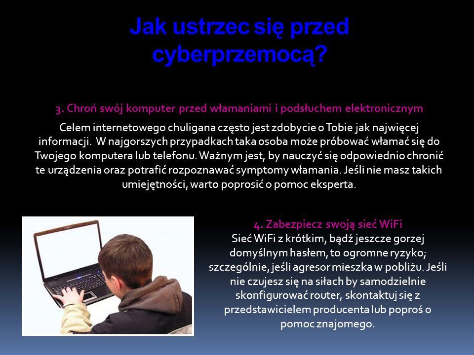 Jak ustrzec się przed cyberprzemocą