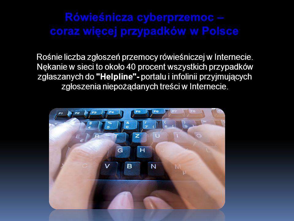 Rówieśnicza cyberprzemoc – coraz więcej przypadków w Polsce
