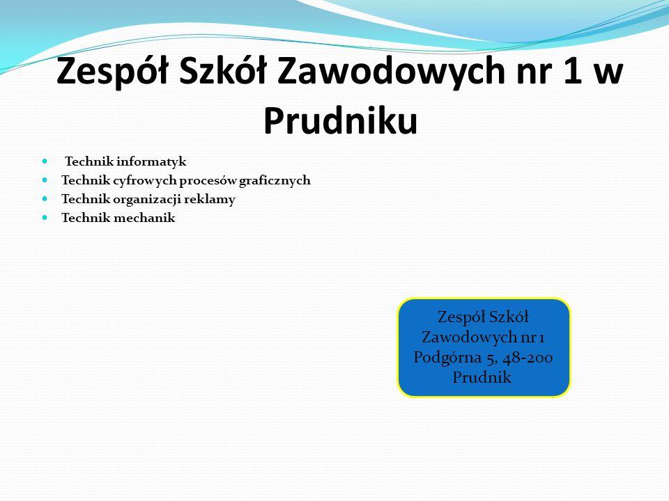 Zespół Szkół Zawodowych nr 1 w Prudniku