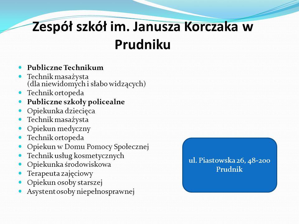 Zespół szkół im. Janusza Korczaka w Prudniku