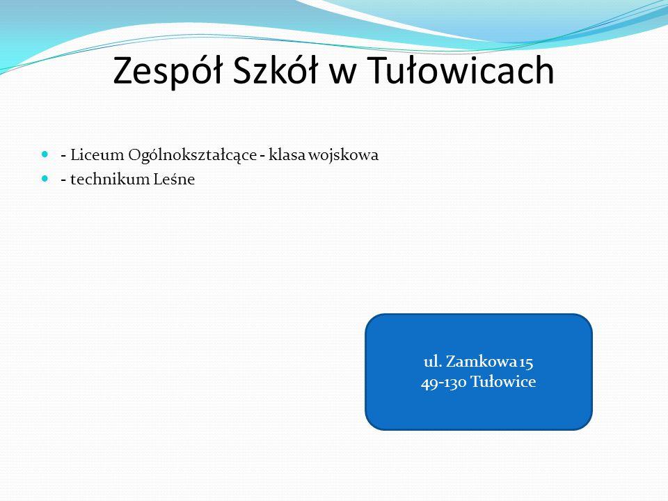 Zespół Szkół w Tułowicach