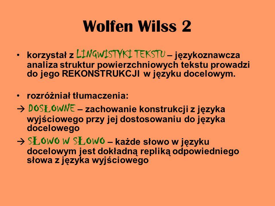 Wolfen Wilss 2