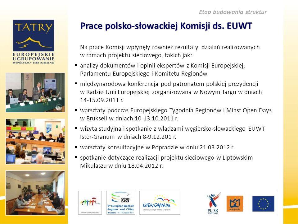 Prace polsko-słowackiej Komisji ds. EUWT