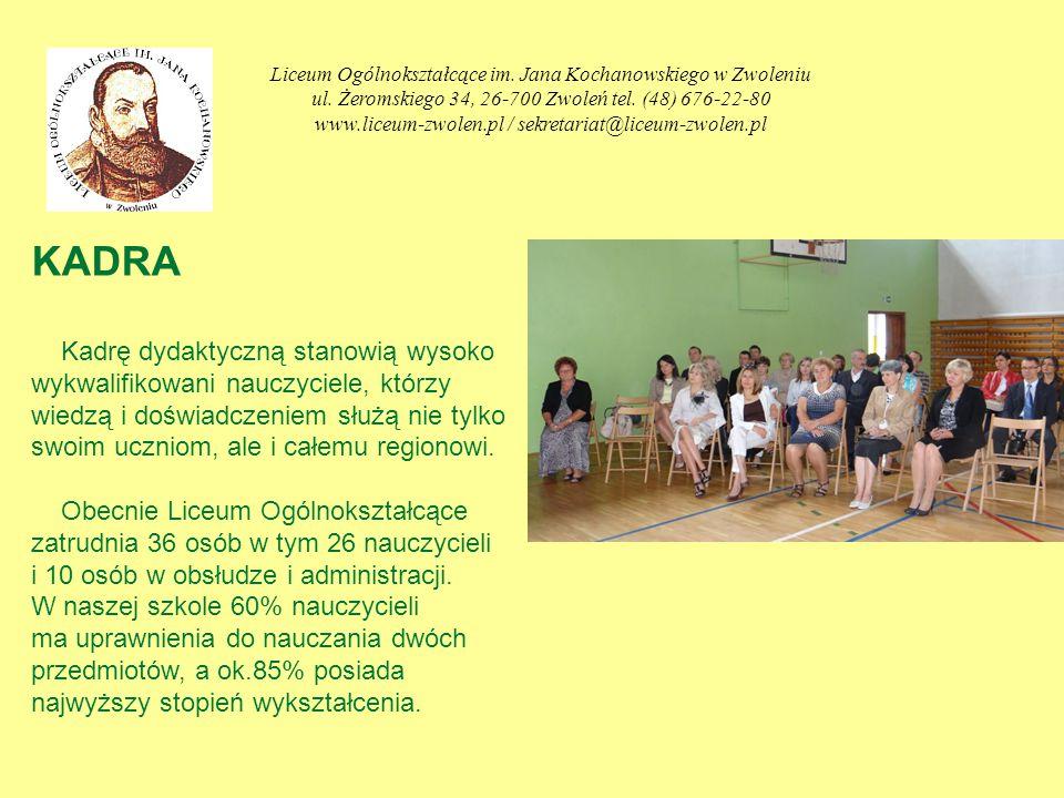 Liceum Ogólnokształcące im. Jana Kochanowskiego w Zwoleniu