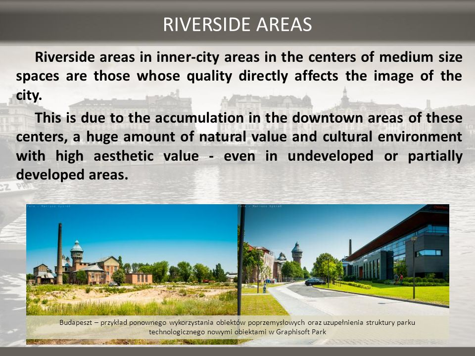 RIVERSIDE AREAS