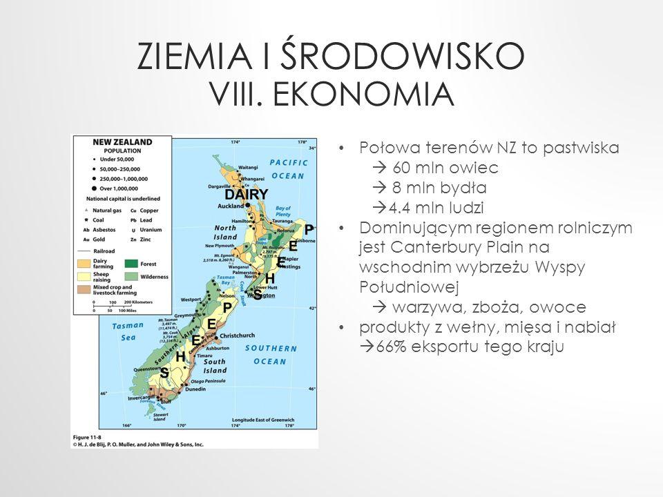 Ziemia i Środowisko VIII. ekonomia