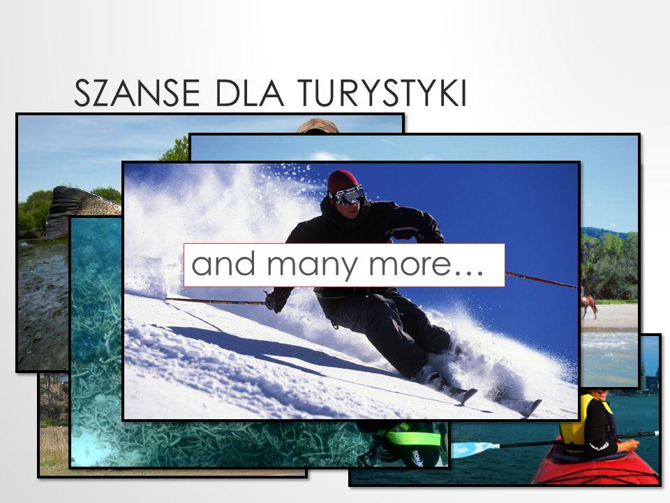 Szanse dla turystyki and many more…