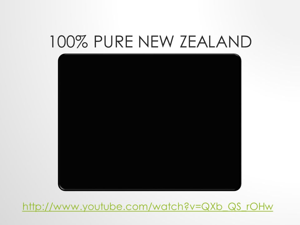 100% Pure New Zealand http://www.youtube.com/watch v=QXb_QS_rOHw