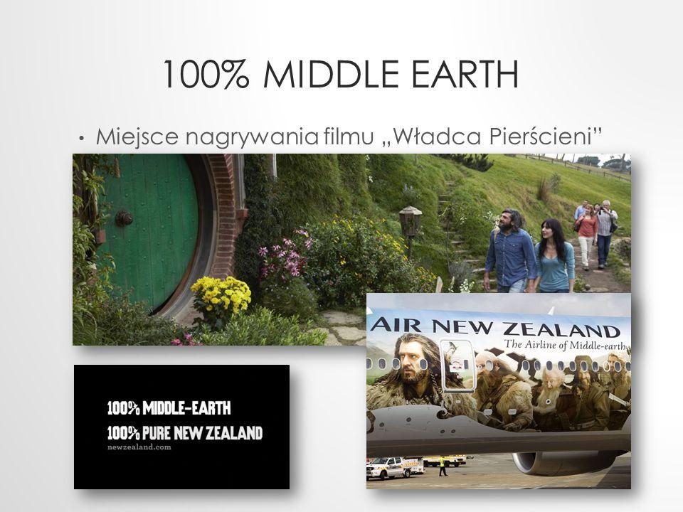 """100% Middle Earth Miejsce nagrywania filmu """"Władca Pierścieni"""