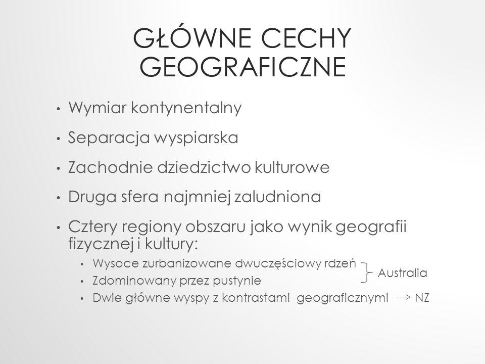 Główne cechy geograficzne