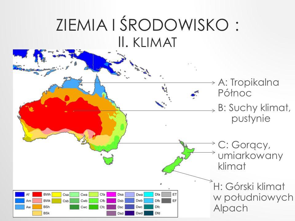 Ziemia i Środowisko : II. klimat
