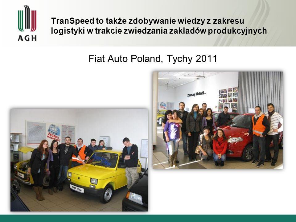 TranSpeed to także zdobywanie wiedzy z zakresu logistyki w trakcie zwiedzania zakładów produkcyjnych