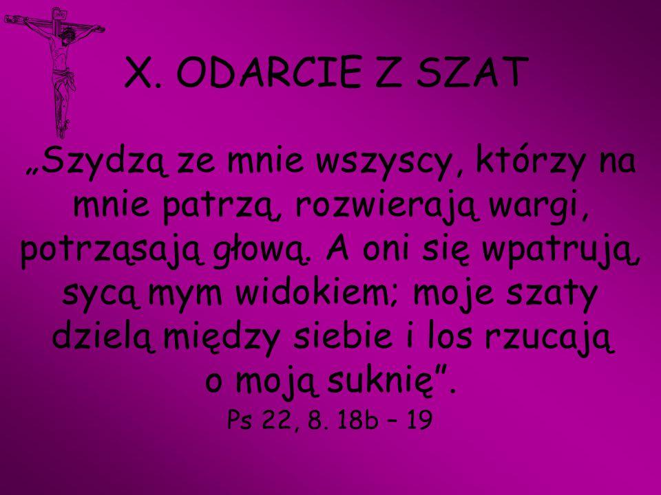 X. ODARCIE Z SZAT