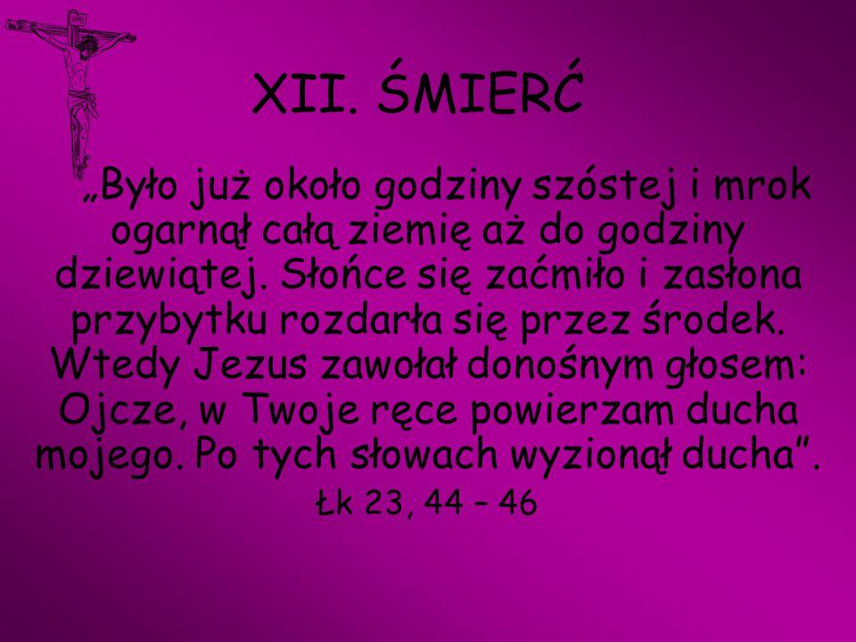 XII. ŚMIERĆ