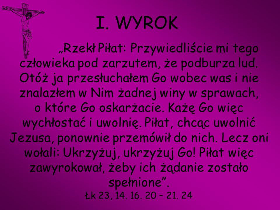 I. WYROK