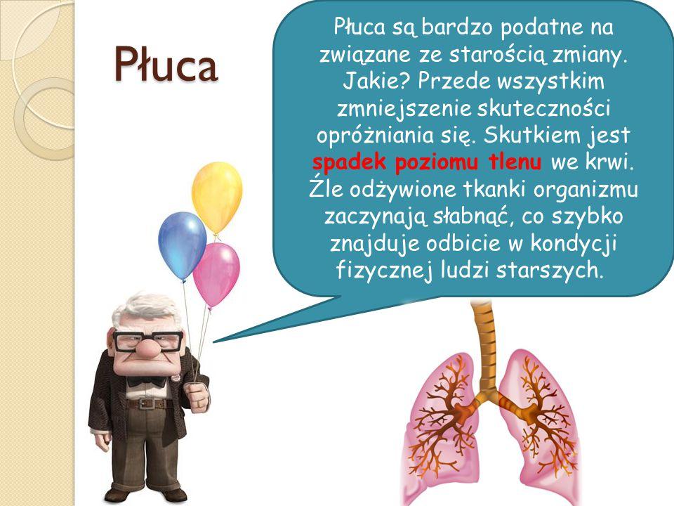 Płuca są bardzo podatne na związane ze starością zmiany. Jakie