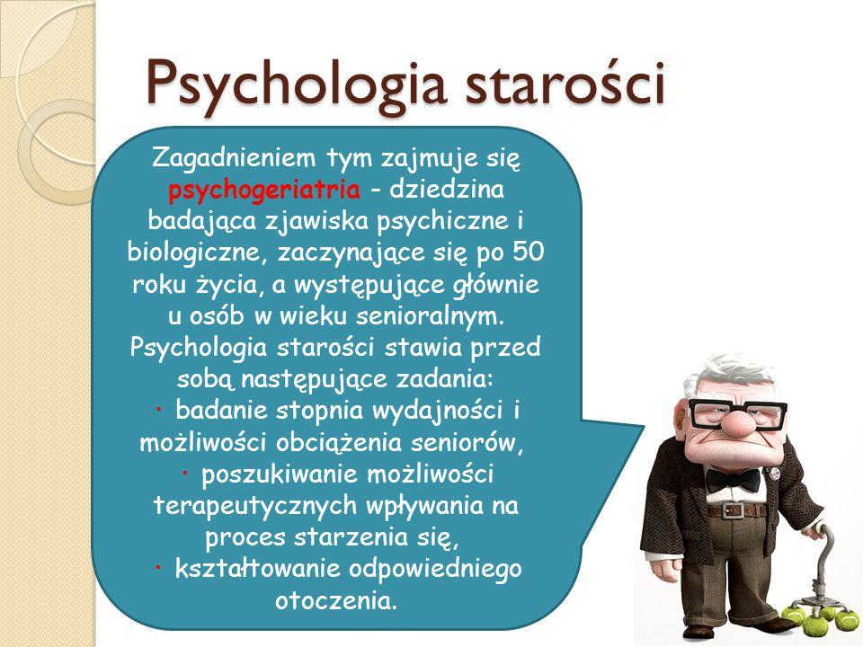 Psychologia starości
