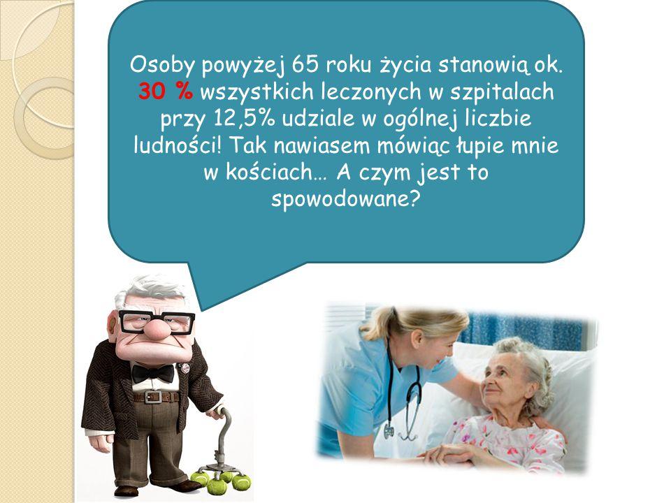 Osoby powyżej 65 roku życia stanowią ok