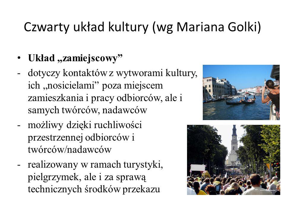 Czwarty układ kultury (wg Mariana Golki)