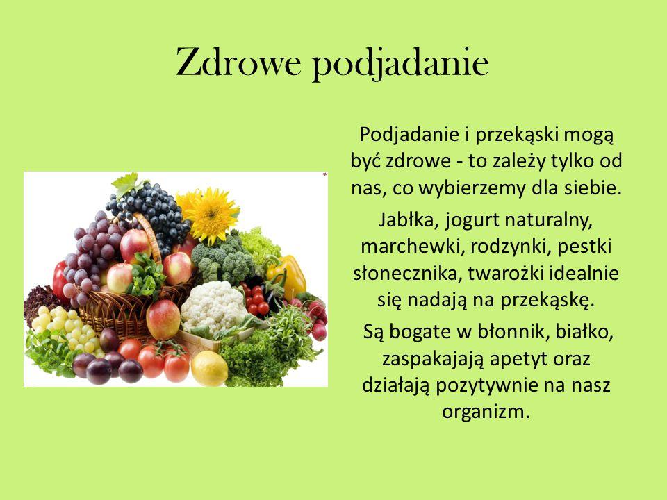 Zdrowe podjadanie