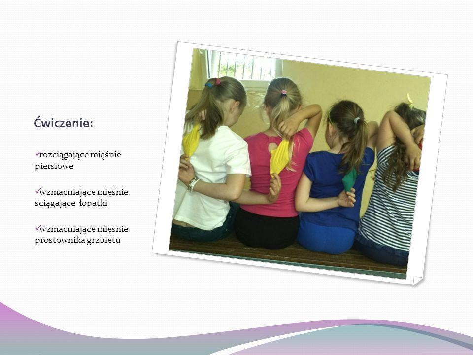 Ćwiczenie: rozciągające mięśnie piersiowe