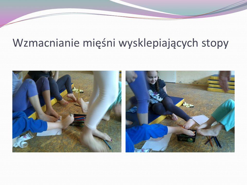 Wzmacnianie mięśni wysklepiających stopy