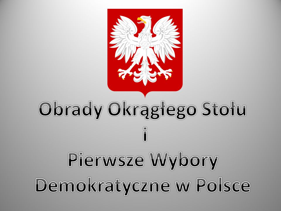 Obrady Okrągłego Stołu Demokratyczne w Polsce