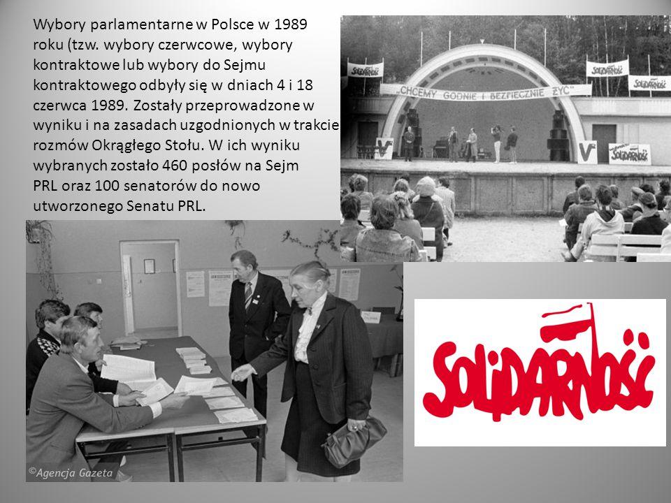 Wybory parlamentarne w Polsce w 1989 roku (tzw