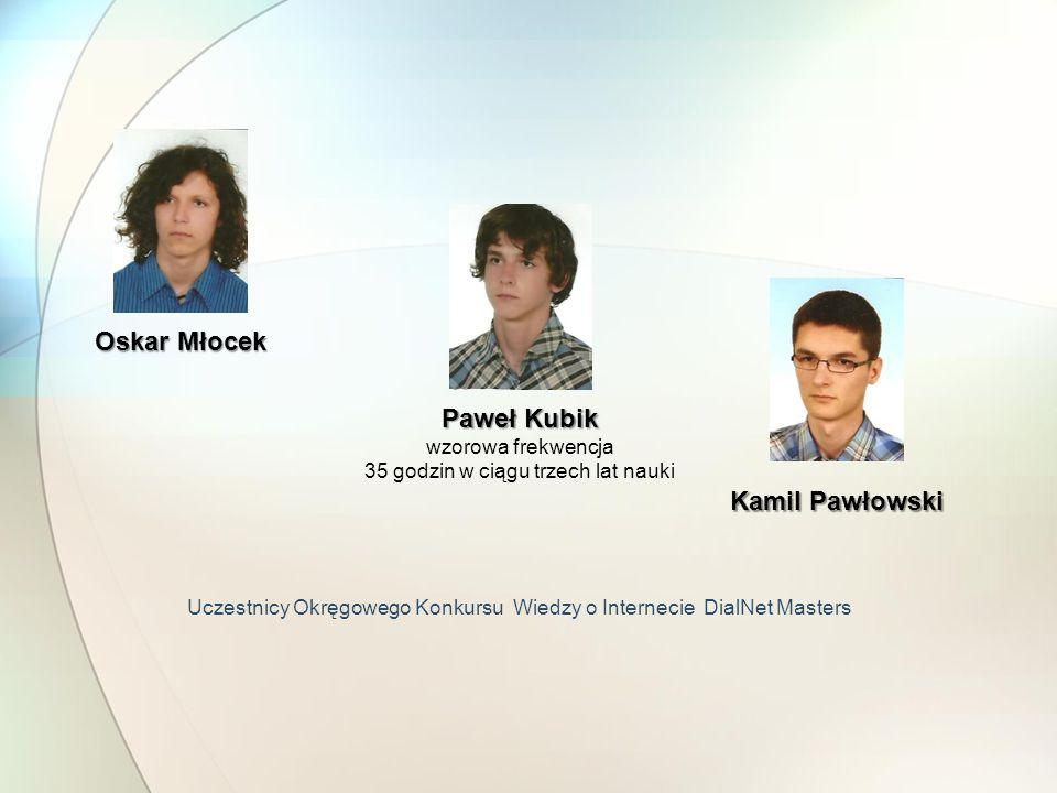Uczestnicy Okręgowego Konkursu Wiedzy o Internecie DialNet Masters