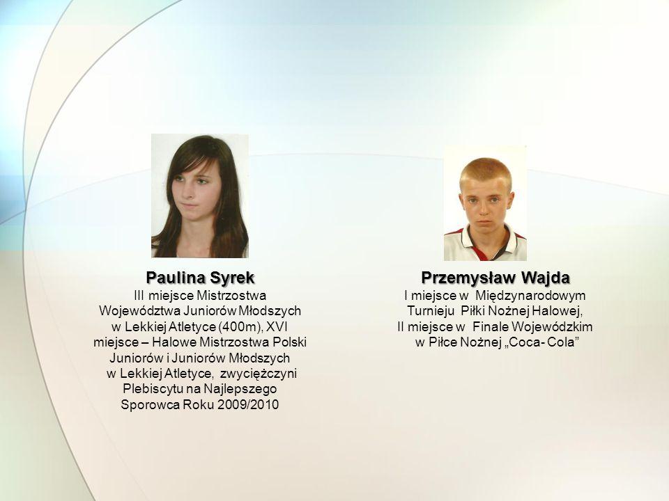 Paulina Syrek Przemysław Wajda