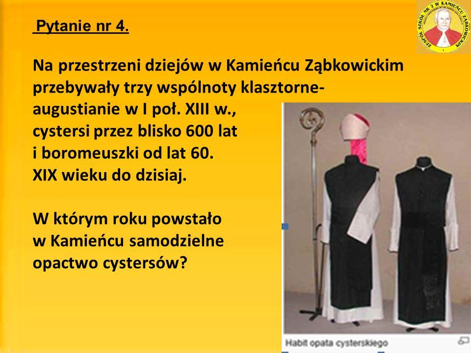 Na przestrzeni dziejów w Kamieńcu Ząbkowickim