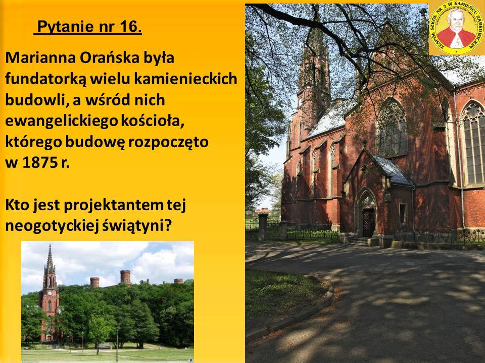 Kto jest projektantem tej neogotyckiej świątyni