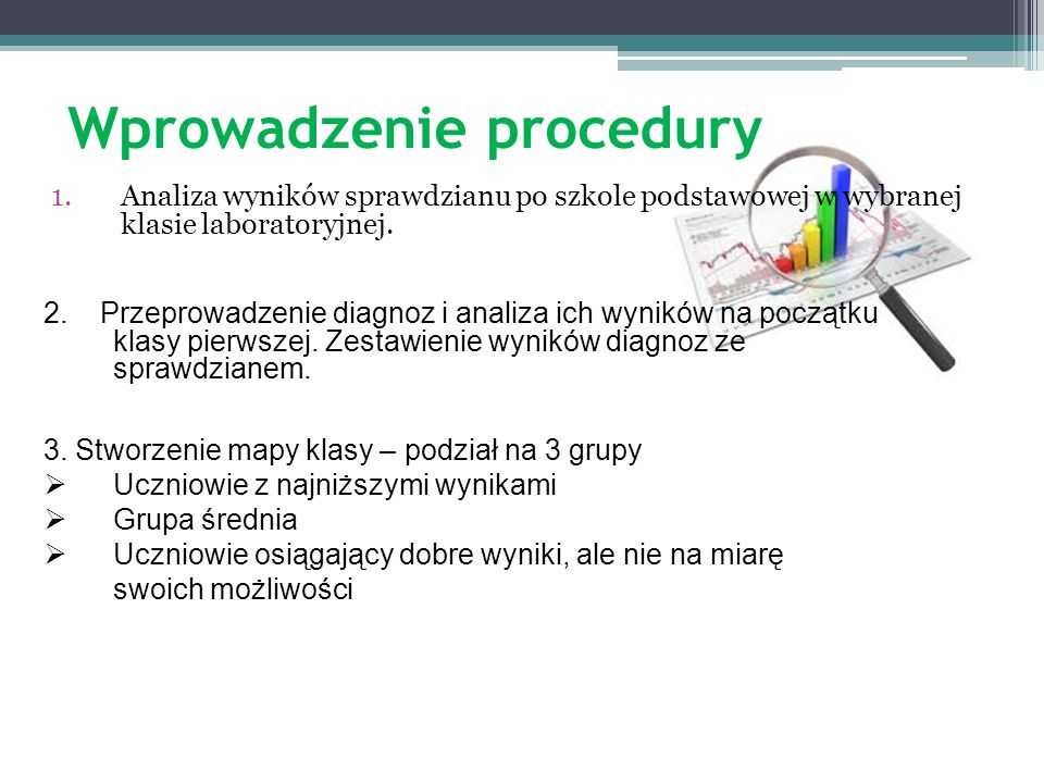 Wprowadzenie procedury