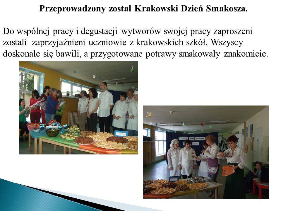 Przeprowadzony został Krakowski Dzień Smakosza.