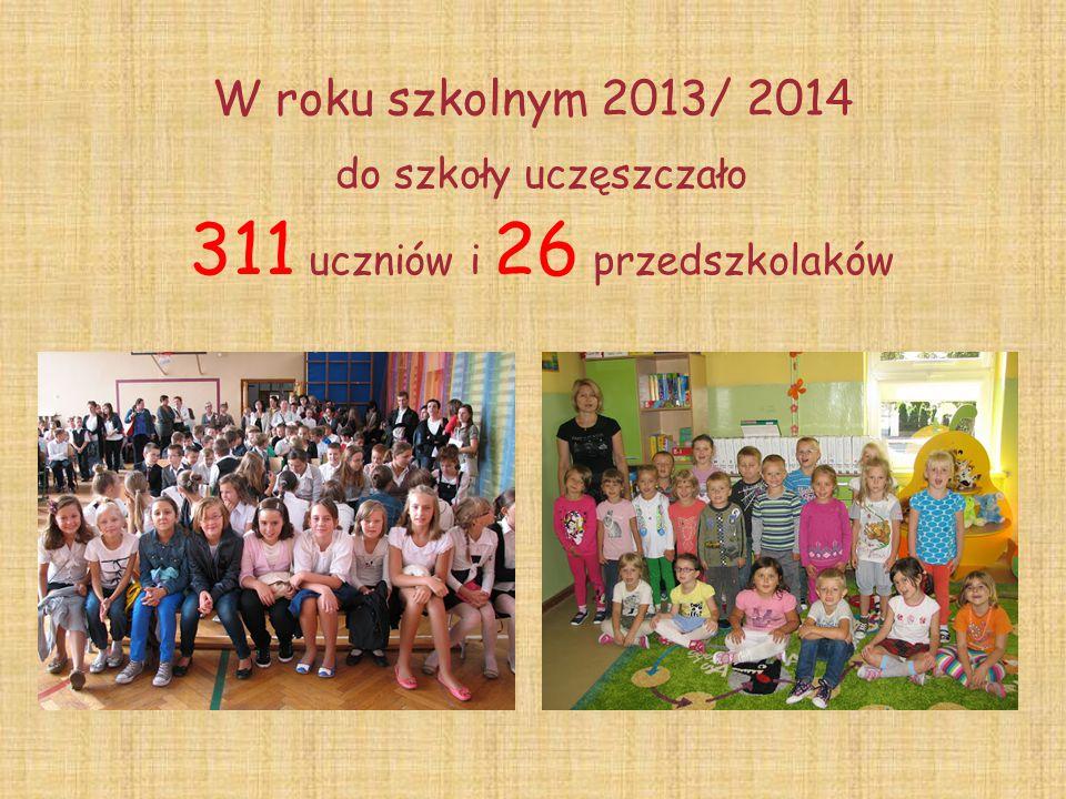 311 uczniów i 26 przedszkolaków