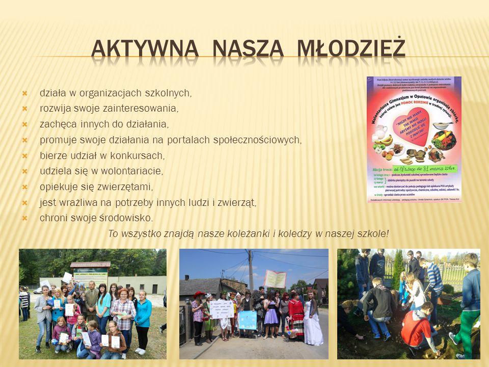 Aktywna nasza młodzież