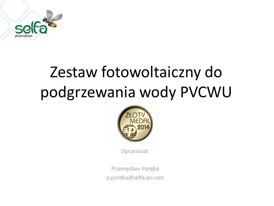 Zestaw fotowoltaiczny do podgrzewania wody PVCWU