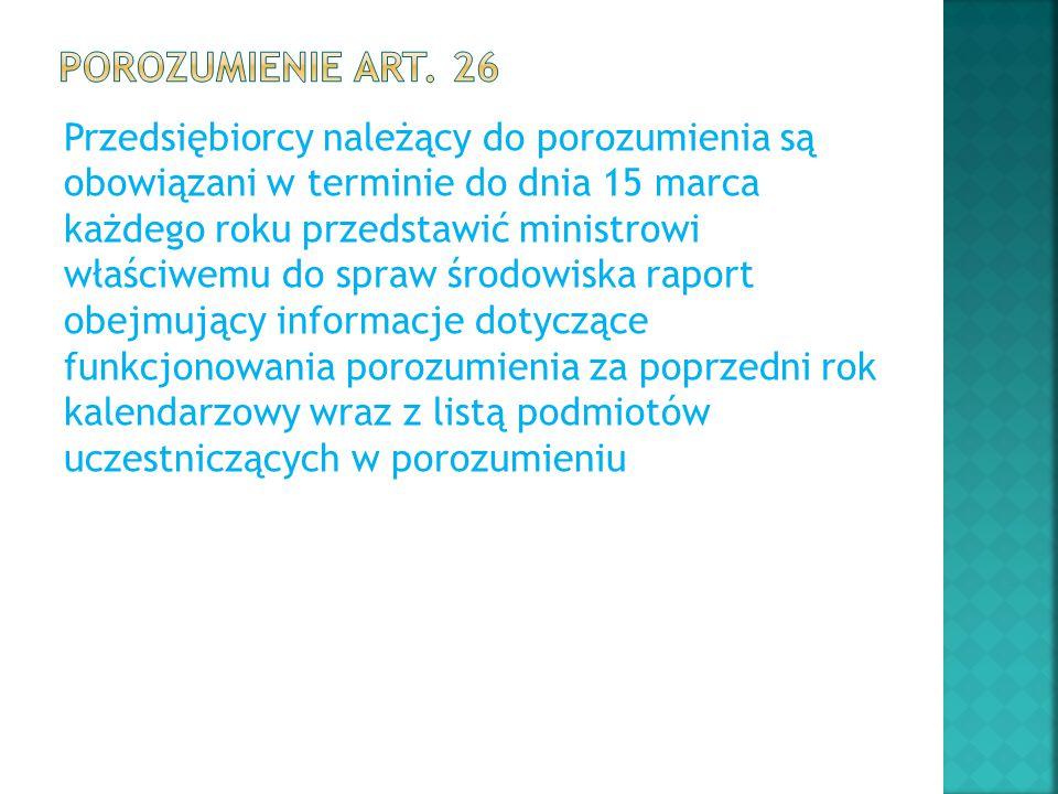 Porozumienie art. 26